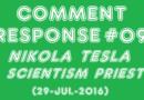 JLBP1684 | Nikola Tesla a Scientism Priest?