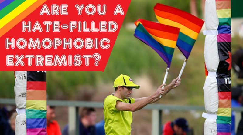 JLBE1690 | Are You a Hate-Filled, Homophobic Extremist?
