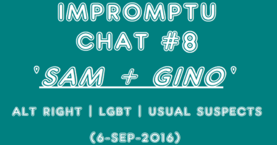 Impromptu Chat #8   'Sam + Gino' (6-Sep-2016)