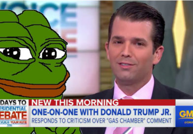 JLBE1698   Trumpy Boy: 'I've Never Even Heard of Pepe'