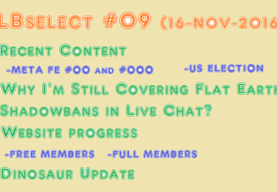 JLBSelect #09 | Look What I'm Up Against (16-Nov-2016)