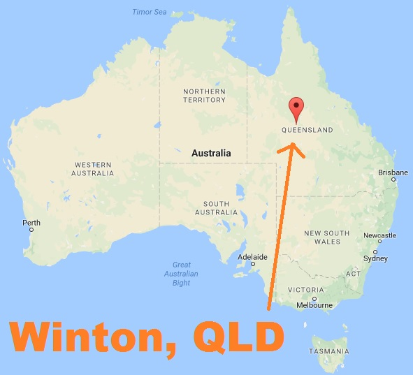 Did a dinohoax take place in Winton? John le Bon the Dinoskeptic drove out there to investigate.
