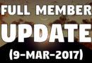 Full Member Update #3 (9-Mar-2017)
