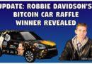 Winner of Robbie Davidson's Bitcoin Car Raffle: Eric Miller