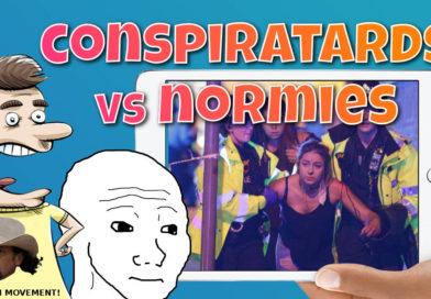 Grande Terror 'Hoax': Conspiratards vs Normies