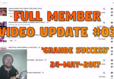 Full Member Video Update #03 (24-May-2017) – 'Grande Success'