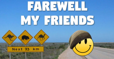 Farewell My Friends – Peace to You All