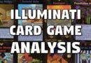 Website Update (21-Nov-2017) 'Illuminati Card Game' Analysis