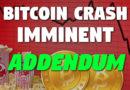 Bitcoin Crash Imminent [Addendum]
