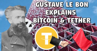 Gustave le Bon Explains Bitcoin & Tether