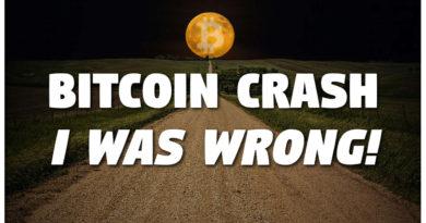 I Predicted Bitcoin Crash – I Was WRONG!
