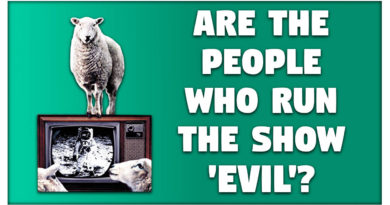 Are The People Who Run The Show 'Evil'?
