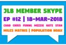 JLB Member Skype #12 – Miles Mathis | Population Hoax (18-Mar-2018)
