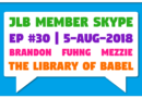 Member Skype #30 – 'The Library of Babel' by Jorge Luis Borges