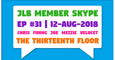 Member Skype #31 – The Thirteenth Floor (12-Aug-2018)