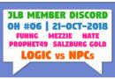 JLB Member Discord | Open House #06 | Logic vs NPCs (21-Oct-2018)