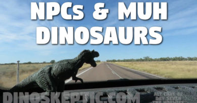 NPCs and Muh Dinosaurs