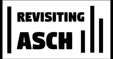 Asch Conformity Experiment Revisited