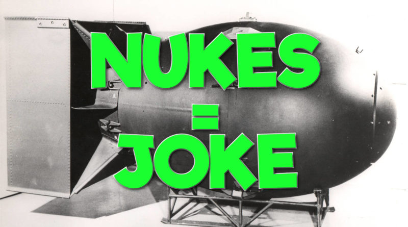 White Pill: 'Nuclear Bombs' are a JOKE