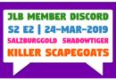 JLB MDC | S2 E2 | Killer Scapegoats (24-Mar-2019)