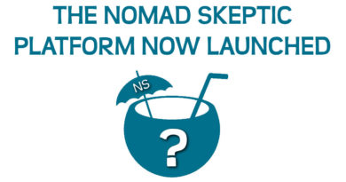 The 'Nomad Skeptic' platform has finally launched