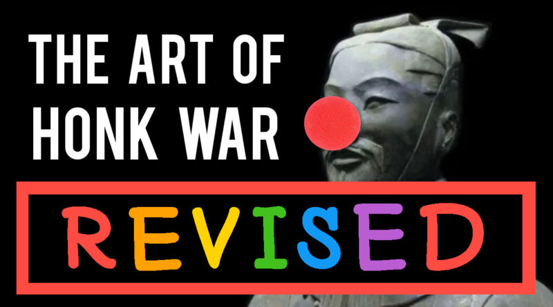 'The Art of Honk War' by Some Zoo