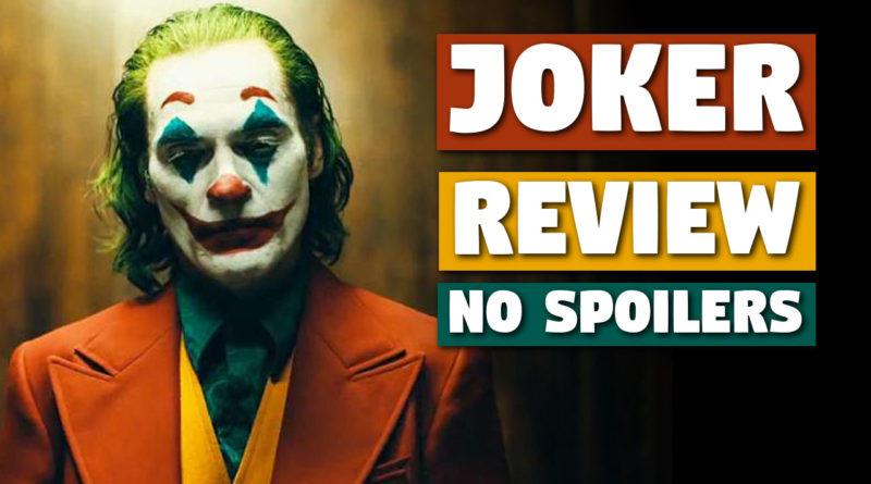 Joker (2019) Film Review [No Spoilers]