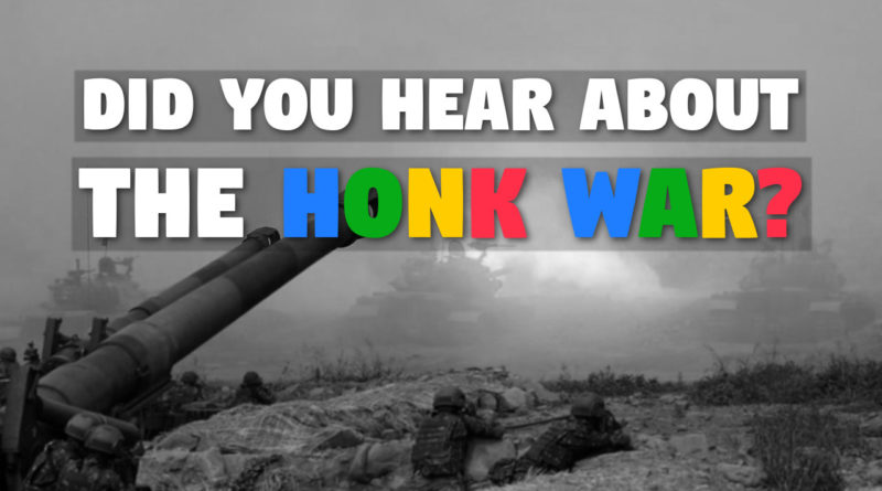 Honk War in Clown World