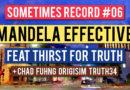 Sometimes Record #06   Mandela Effective (30-Jan-2020)