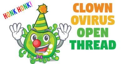 Clownovirus Panic — Open Discussion Thread