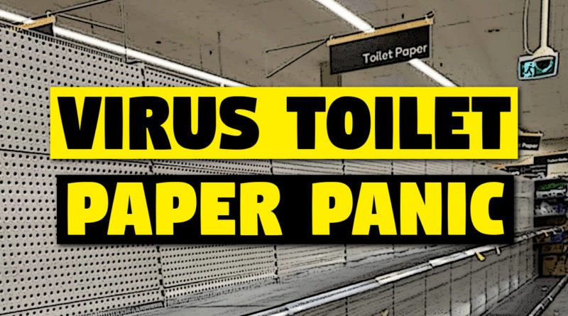 Australia is running out of toilet paper due to coronavirus