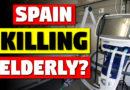 Spainish coronavirus response, are elderly dying?