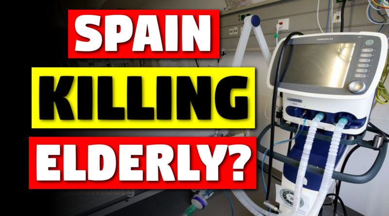 Spainish coronavirus response, are elderly dying?