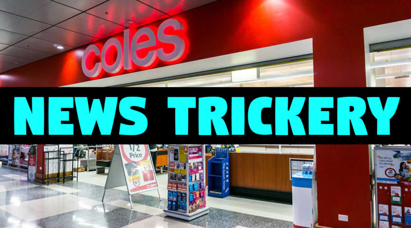 Coles and channel 9 working together.