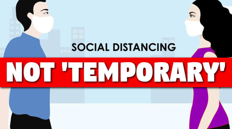 Social distancing restrictions due to coronavirus