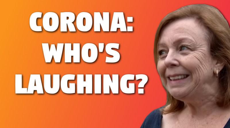 Coronavirus laughing matter