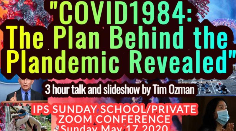 Covid-1984 plandemic coronavirus.