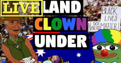 Land Clown Under Livestream