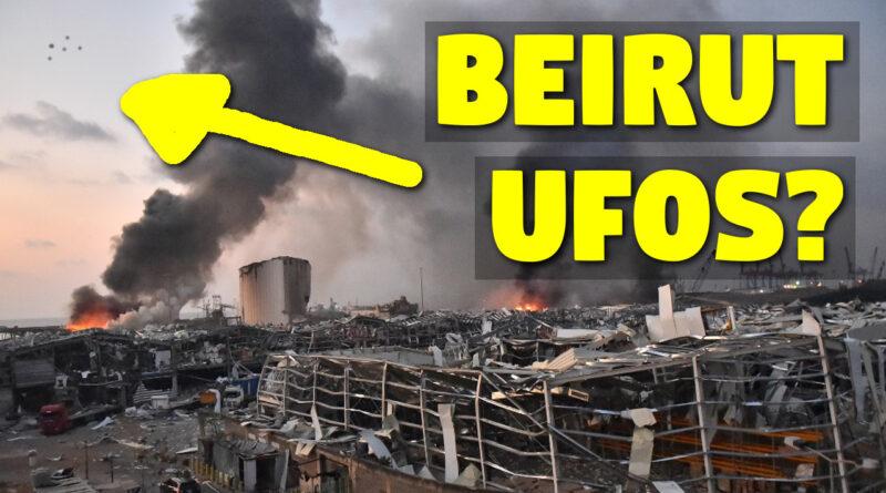 Beirut Bomb proves alien invasion?