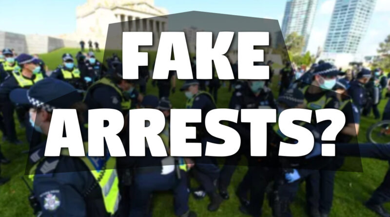 Are Melbourne coronavirus lockdown protest arrests fake?