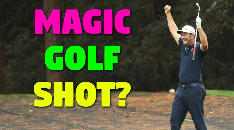 Jon Rahm hits an incredible golf shot... or does he?