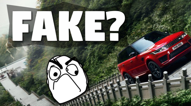 Range Rover Dragon Fake