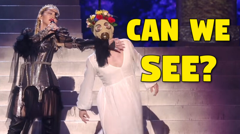 Madonna Eurovision Coronavirus Predictive Programming