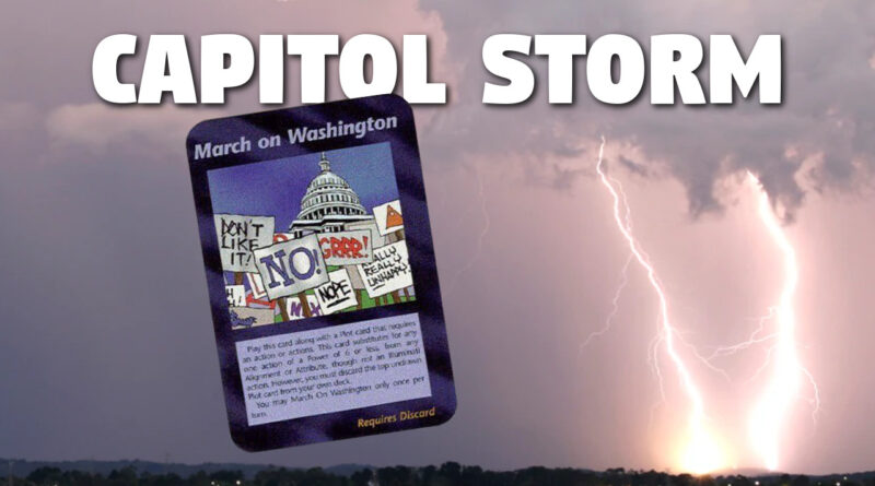Capitol Storm vs House of Cards