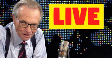 Larry King Syncs Livestream
