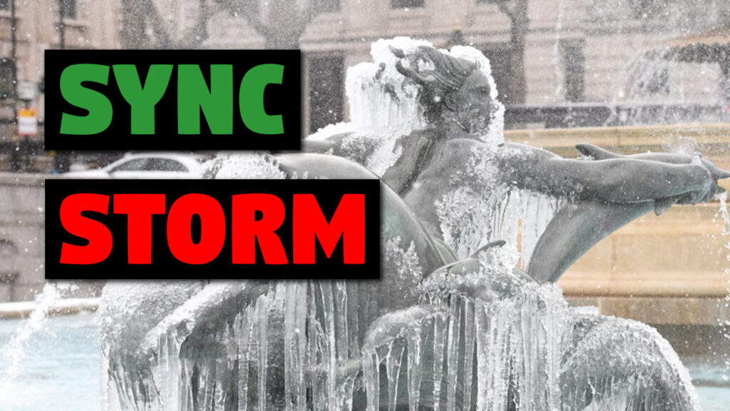 The Sync Storm is Coming