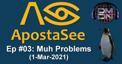 ApostaSee Show | Ep #03 – Muh Problems (1-Mar-2021)