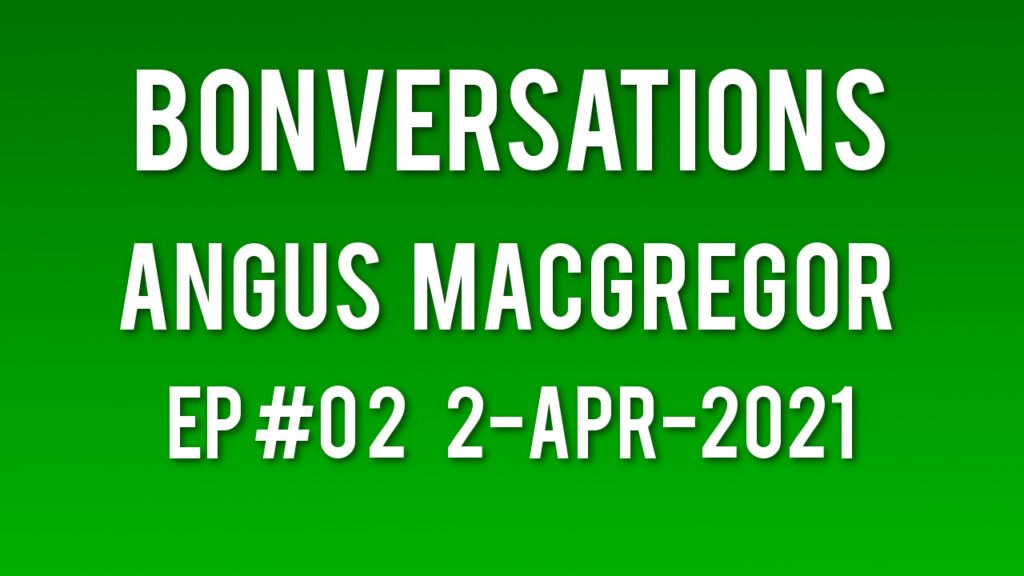 Angus MacGregor from Melbourne