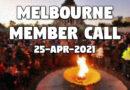 Melbourne Member Call