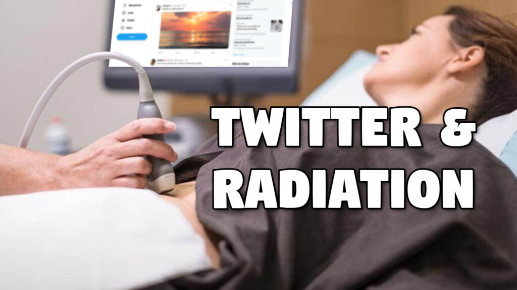 Twitter and Radiation